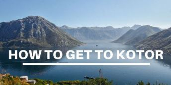 How to get to Kotor in Montenegro
