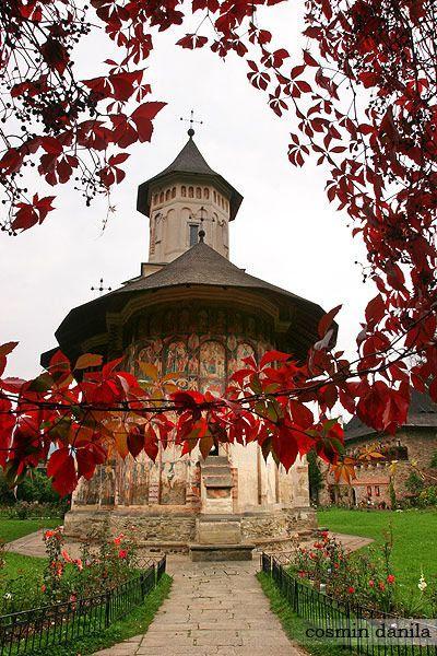 THE PAINTED MONASTERIES OF BUCOVINA, NORTHERN ROMANIA – MOLDOVITA PAINTED MONASTERY