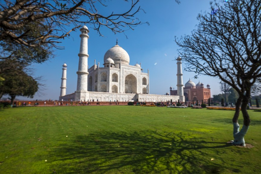 Photographing the Taj Mahal