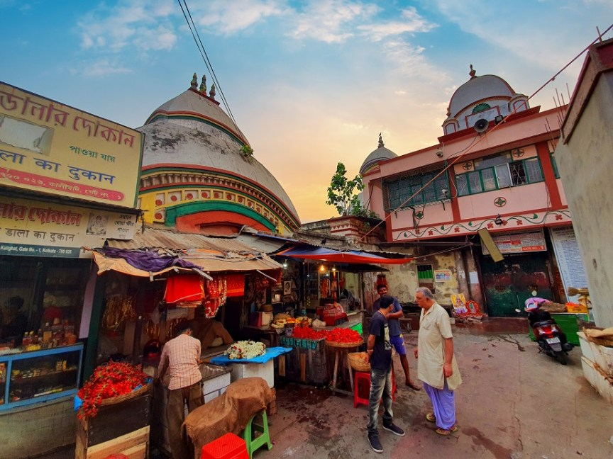 Famous historic temples in the city of Kolkata