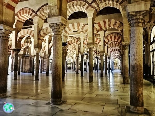 Mezquita de Córdoba sin gente antes del cierre