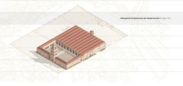 Mezquita fundacional de Abd al Rahman I