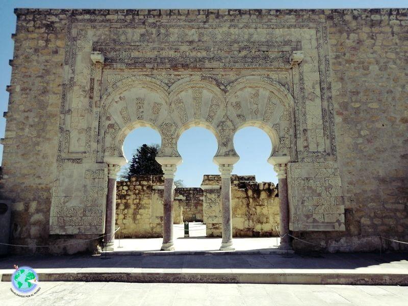 Arcos de entrada a la casa del primer ministro.