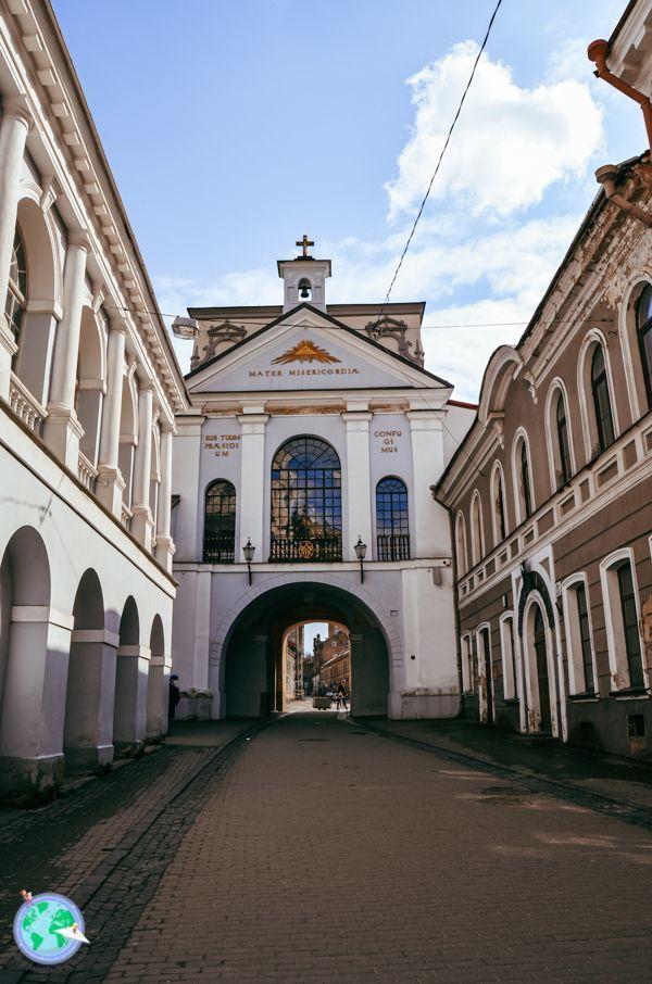Vilna- Parte de atrás de la puerta Aurora r1