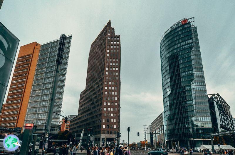 Berlin - Edificios de potsdamer platz