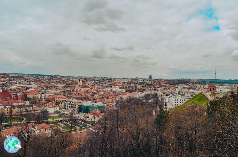 Vilna - Vistas de Vilna desde las tres cruces r1