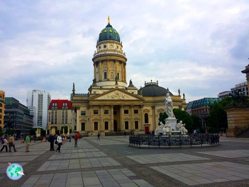 Catedral francesa en la Gendarmenmarkt
