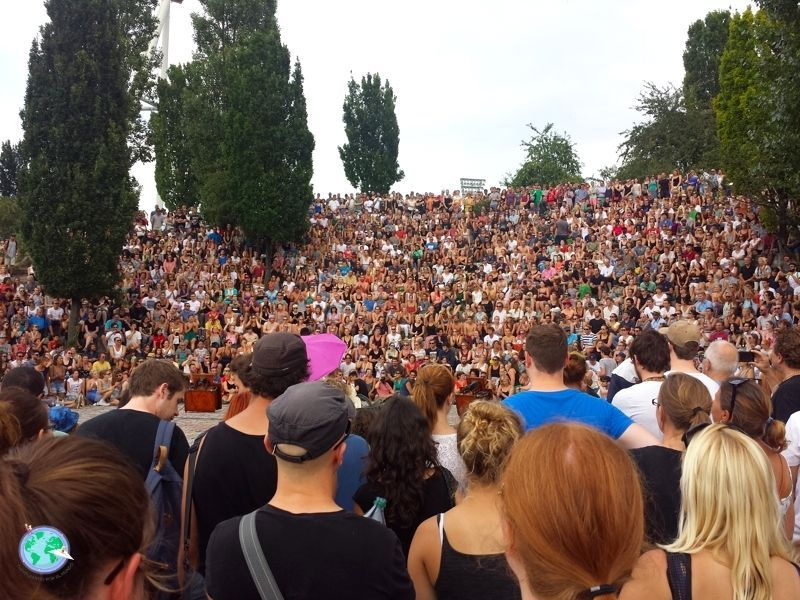 Karaoke de los domingos en Mauerpark