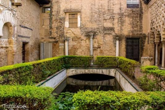 Patio del yeso dentro del Alcázar