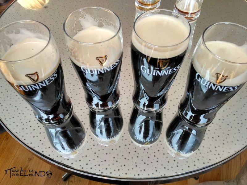 cervezas de Dublin