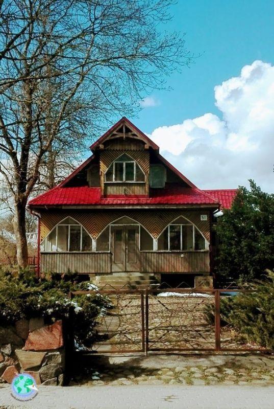 Casa tradicional de Trakai