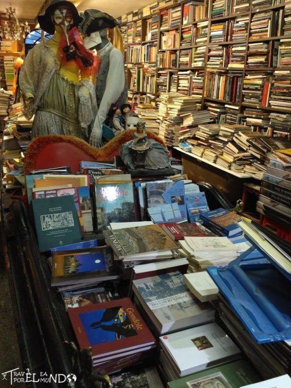 Libreria en Venecia