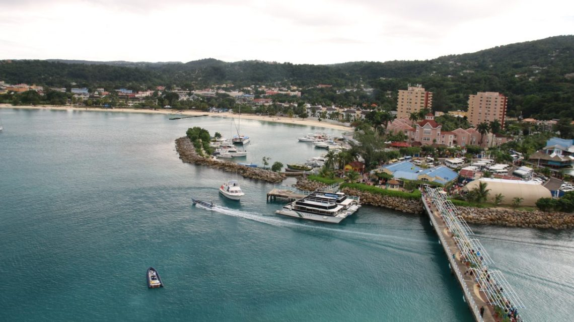 Ocho Rios View Jamaica Vacation Travel Cruise