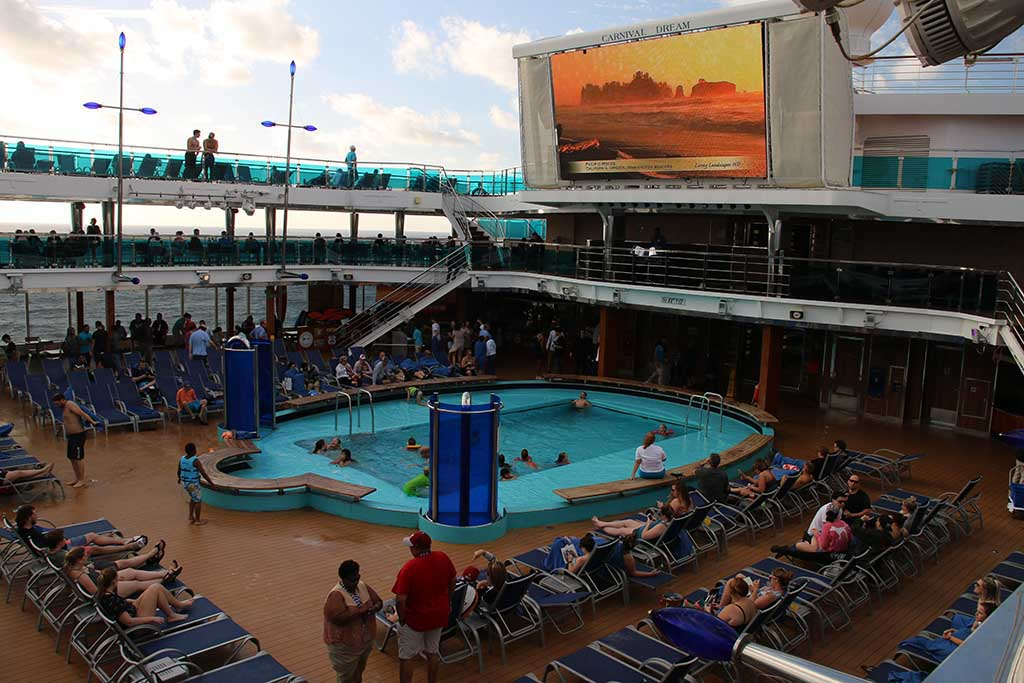 Decks on Carnival Dream Cruise Ship review
