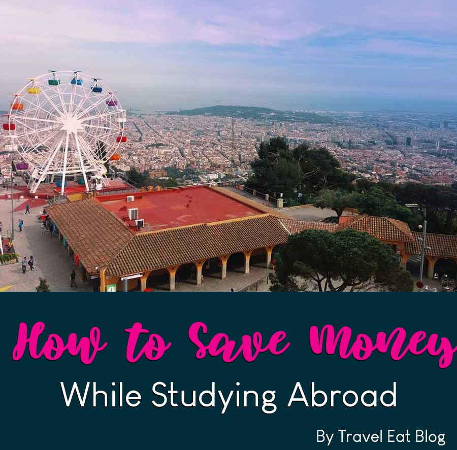 How to save money when you are studying abroad