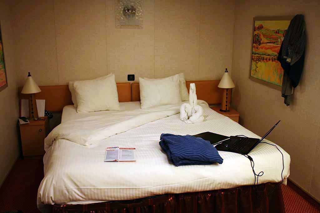Interior Staterooms on Carnival Dream Cruise Ship comfortable beds