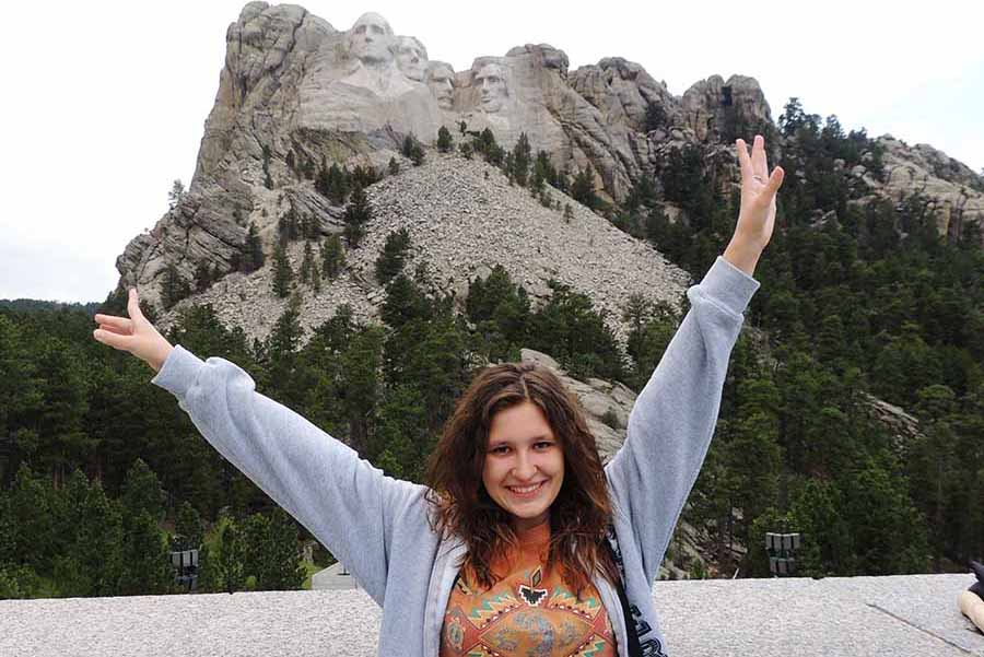 See the Heads of Mt Rushmore USA Bucket List