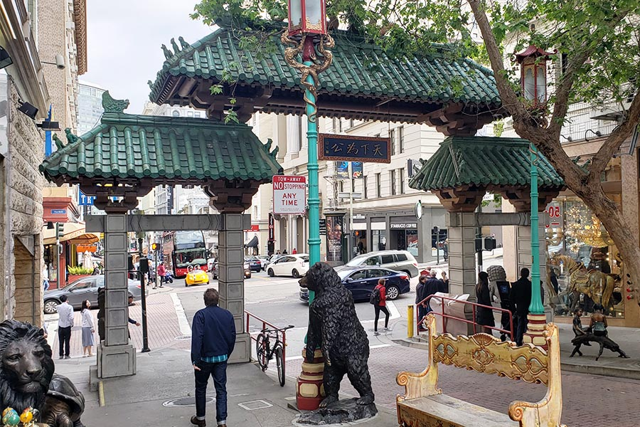 Dragon Gate San Francisco Chinatown