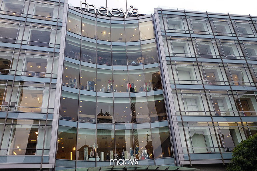 UNion Square shopping San Francisco