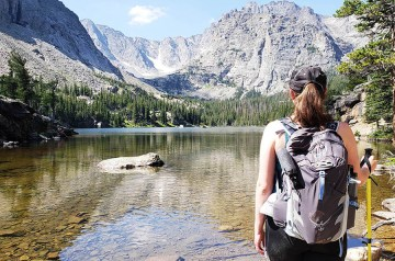 Camping in the Rocky Mountain National Park