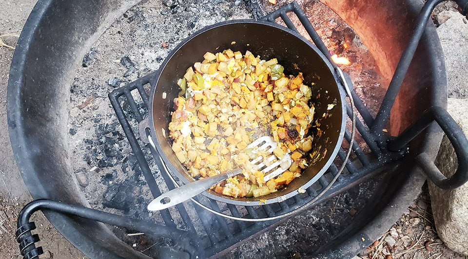 Camping Gear Dutch Oven Food