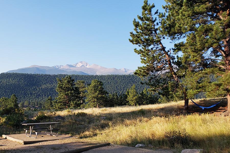 Breath-taking views Moraine Park Campground Loop B