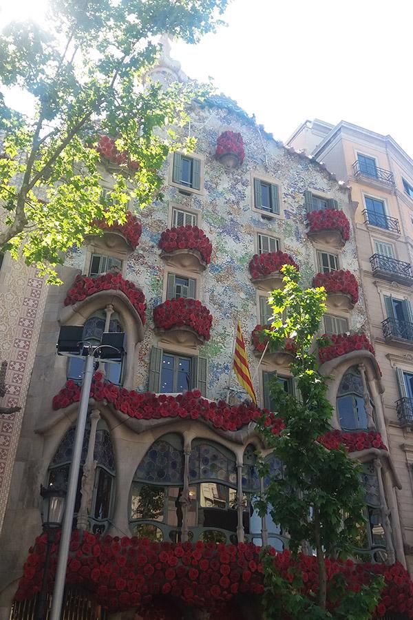 Casa Batillo by Gaudi