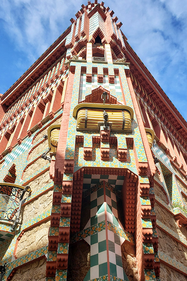 Casa Vicens by Gaudi Barcelona