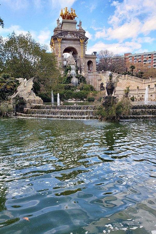 Cascada Fountain in Parc de la Ciutadella