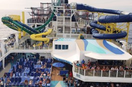 Norwegian Escape Cruise Ship Outdoor Decks