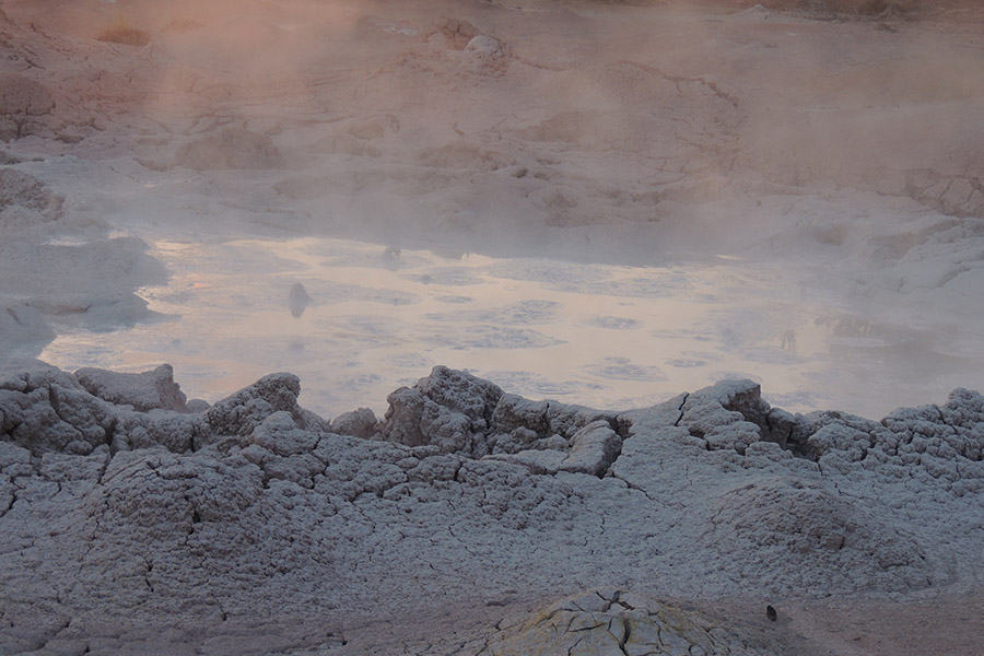 Mud Volcano Yellowstone