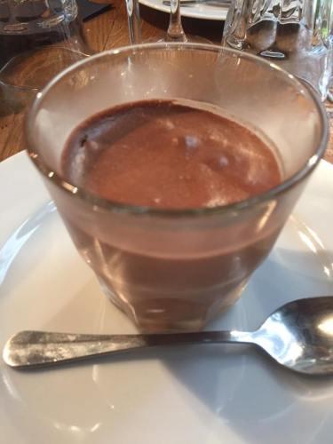 La Citrouille chocolate mousse