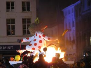 popverbranding Aalst carnival