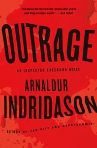 Outrage by Arnaldur Indriðason