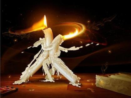 candle dancing