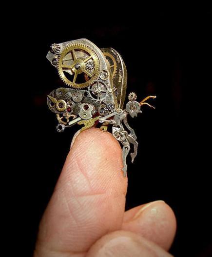 steampunk small sculpture