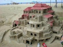 stunning sand art