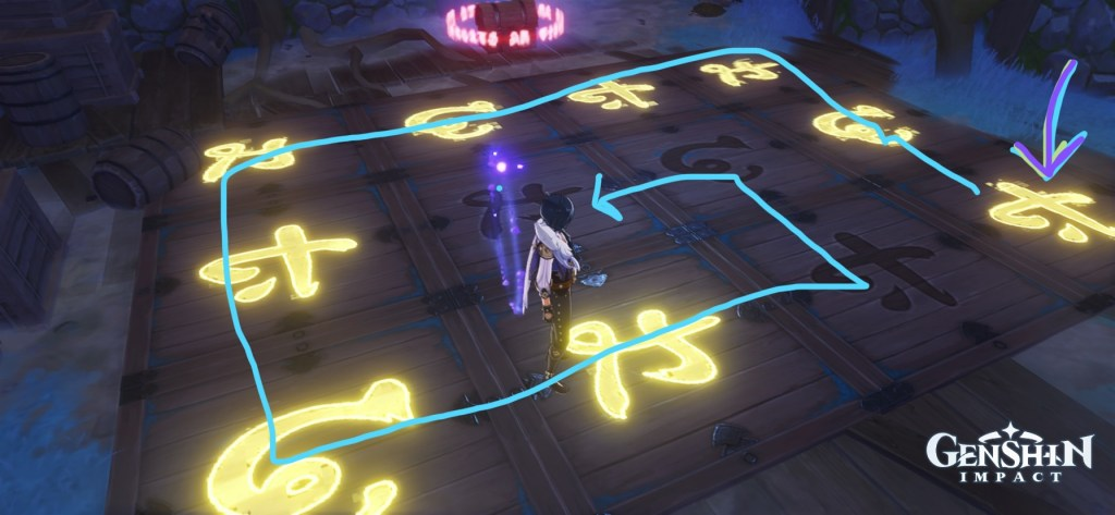 serai relics genshin impact achievement puzzle quest