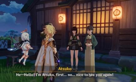 Atsuko Homes Lies Over the Ocean