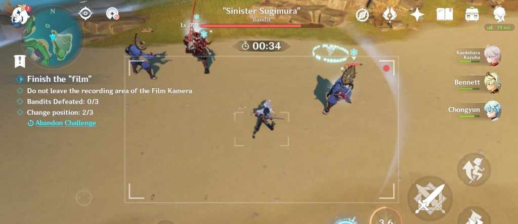 the seventh samurai genshin impact world quest