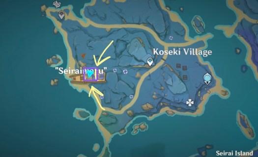 seiraimaru ship puzzle genshin impact 2.1 achievement davy jones