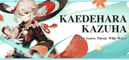 Kaedehara Kazuha Banner
