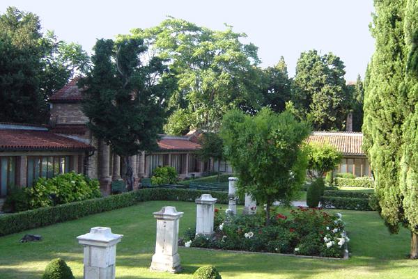 I giardini di Villa Contarini dal Zaffo
