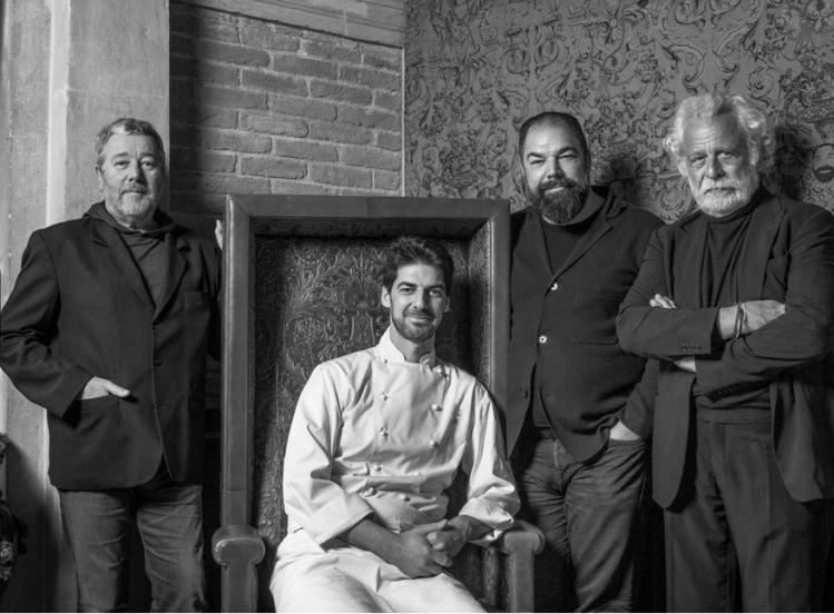 Fratelli Alajmo, Starck, Folin