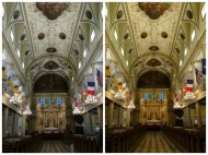 Adjusting white balance testifies to the beauty of St. Paul's Cathedral