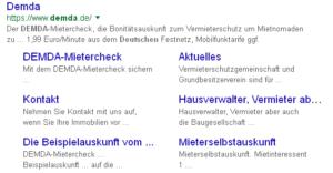 Deutsche Mieterdatenbank DEMDA