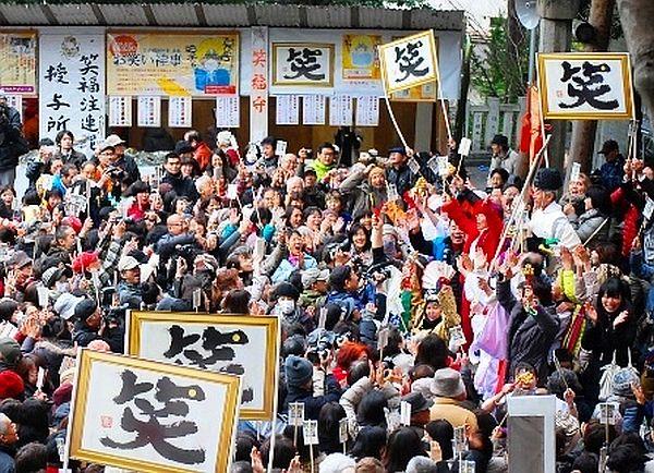 枚岡神社の「お笑い神事」とは?ご利益・御朱印・お守り等について