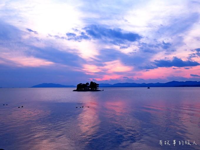 宍道湖晚霞