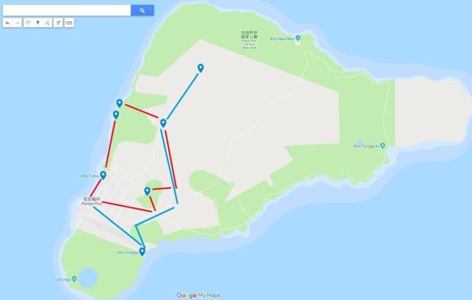 復活節島地圖