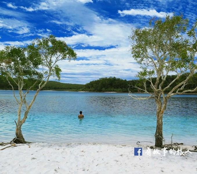 麥肯錫湖 Lake McKenzie Fraser Island